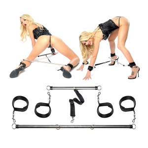 Bondage Bars - Spread 'em Bar and Cuff Set