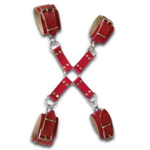 Χειροπέδες 4x4 Κόκκινες - 2002016