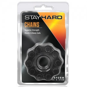 STAY HARD CHAINS BLACK