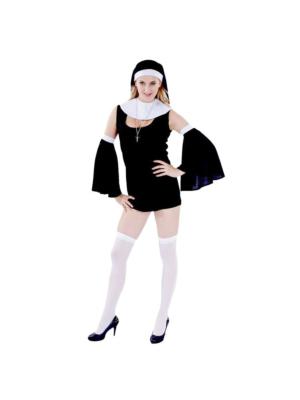 Γυναικεία στολή - Sexy καλόγρια - One size