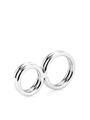 Two-Ringed Deluxe Cockring 32 mm