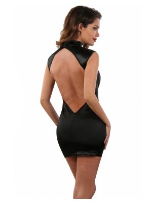 Satin dress with Naked back