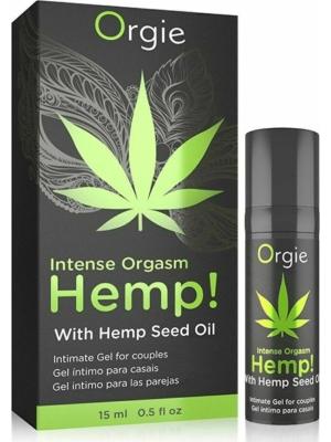 Stimulating for couple Gel Hemp! Intense Orgasm 15 ml