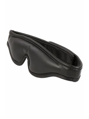 2300082- Black Padded Blindfold Velcro
