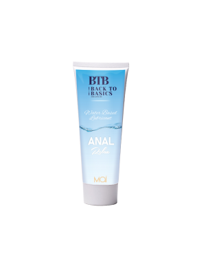 BTB WATERBASED ANAL RELAX LUBRICANT 75ML