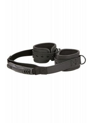 Connected Handcuffs - Black Linked Hand cuffs