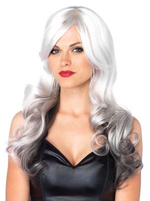 Allure Multi Color Wig - Gray / Black
