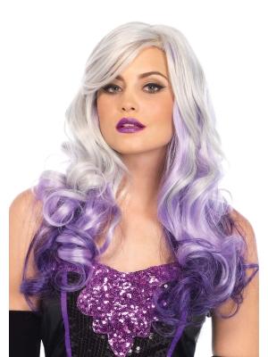 Allure Multi Color Wig - Gray / Purple