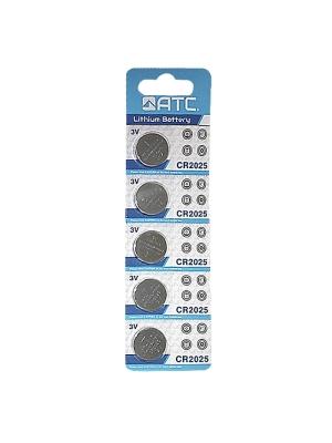Watch Batteries - Alkaline  ATC CR2025 (6pcs)