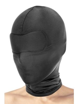 fetish hood - black