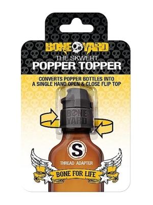 Skwert Popper Topper - Small thread - Black