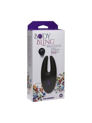 Body Bling Clit Cuddler Mini-Vibe in Second Skin Purple