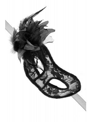 Black transparent mask