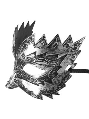 Masquerade silver mask