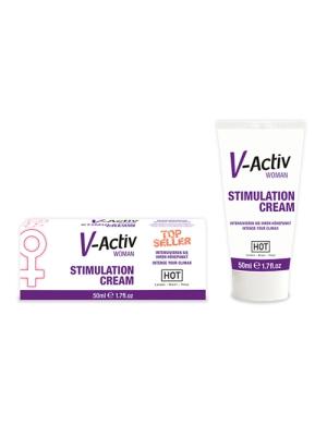 Hot V-Activ Stimulation Cream 50ml