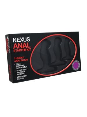 Nexus Anal Starter Kit Black OS