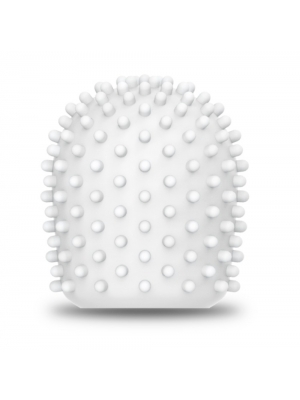 Le Wand Droplet Texture Cover White OS