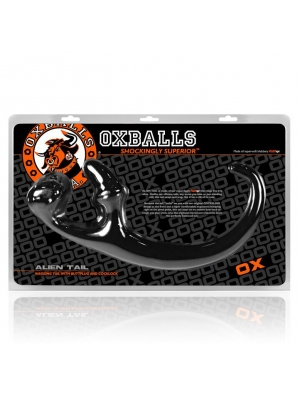 Oxballs Alien Tail Butt Plug Sling Black