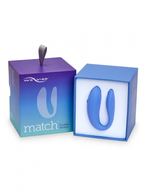 We-Vibe Match Couples Vibrator Blue