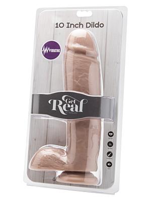Cock 10 Inch w. Balls Vibrator