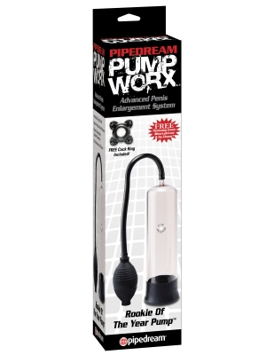 Pipedream Pump Worx Rookie of the Year Pump 19cm Black