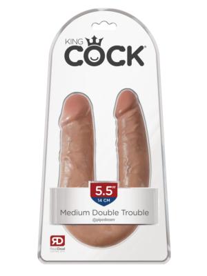 Cock U-shape Double Trouble M