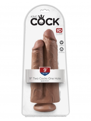 Two Cocks One Hole 9 Inch
