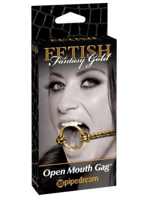 Fetish Fantasy Gold Open Mouth Gag