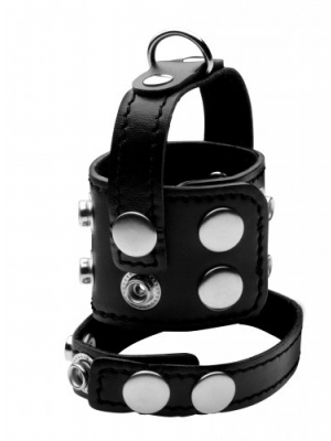 Cock Strap And Ball Stretcher