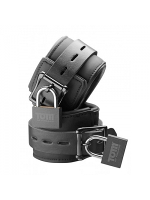 Tom of Finland Neoprene Wrist cuffs w/ locks