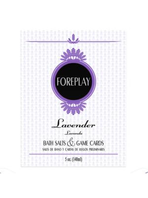 Kheper Games Lavender Foreplay Bath Salts & Game Cards
