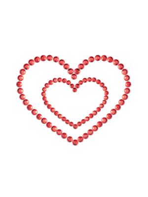 Bijoux Indiscrets - Mimi Heart Red
