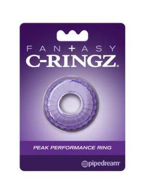 Pipedream Fantasy C-Ringz Peak Performance Ring - Purple