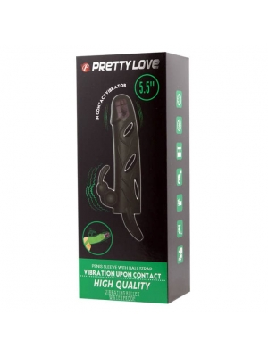 Pretty Love Penis sleeve with ball strap