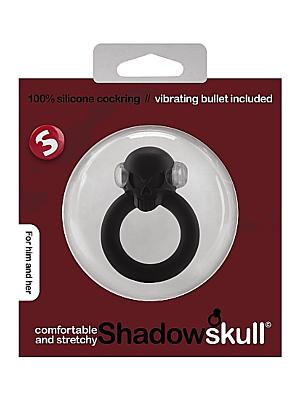Shadow Skull Cockring - Black