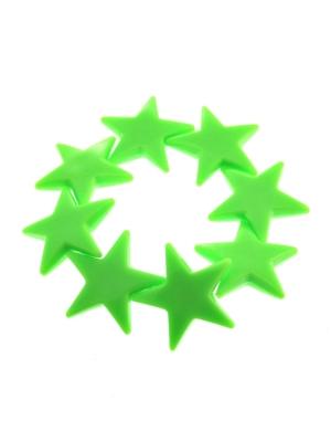 Neon Green Star Bracelets