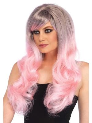 Blended 2-tone pastel long wig