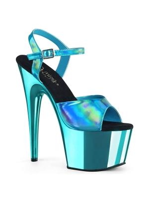 Platform High Heels ADORE-709HGCH - Turquoise