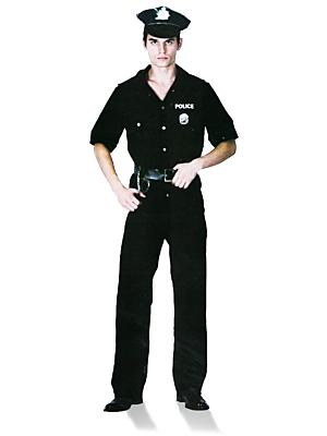 Men's Police Officer One Size