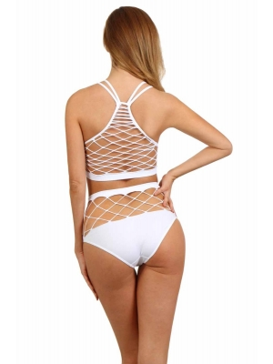 Fishnets B6027 - White