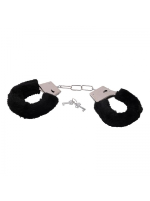 Bestseller - Handcuffs with faux fur black