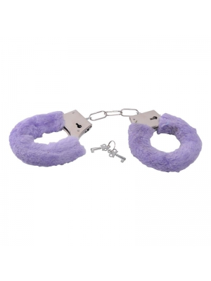 Bestseller - handcuffs with purple fur