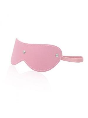 Fetish Blindfold Mask PINK (Vegan Leather)