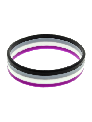 1.5cm Asexual Silicon Bracelets