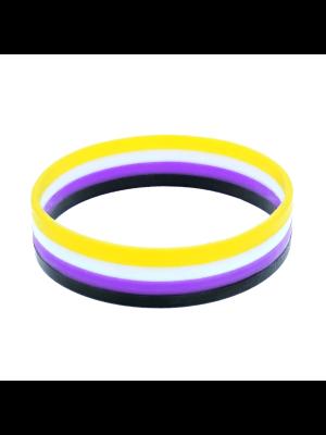1.6cm Non-Binary Silicon Bracelets