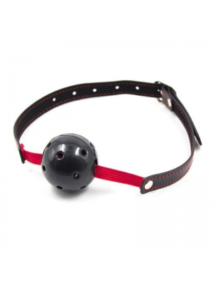 Breathable Ball Gag Stretch (black)