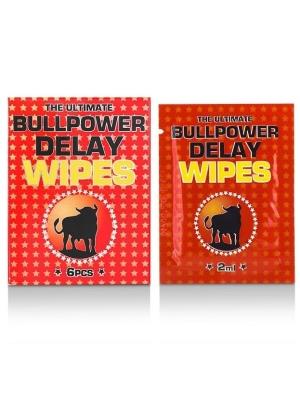Cobeco Pharma The Ultimate Bull Power Delay Wipes 6 x 2 ml