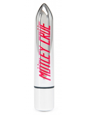 Motley Crue - 10 Function Bullet Vibrator Too Fast For Love Silver