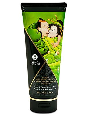 Kissable Massage Cream Pear And Exotic Green Tea 200ml