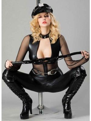 Cosplay Women Sexy Police Uniform 7002